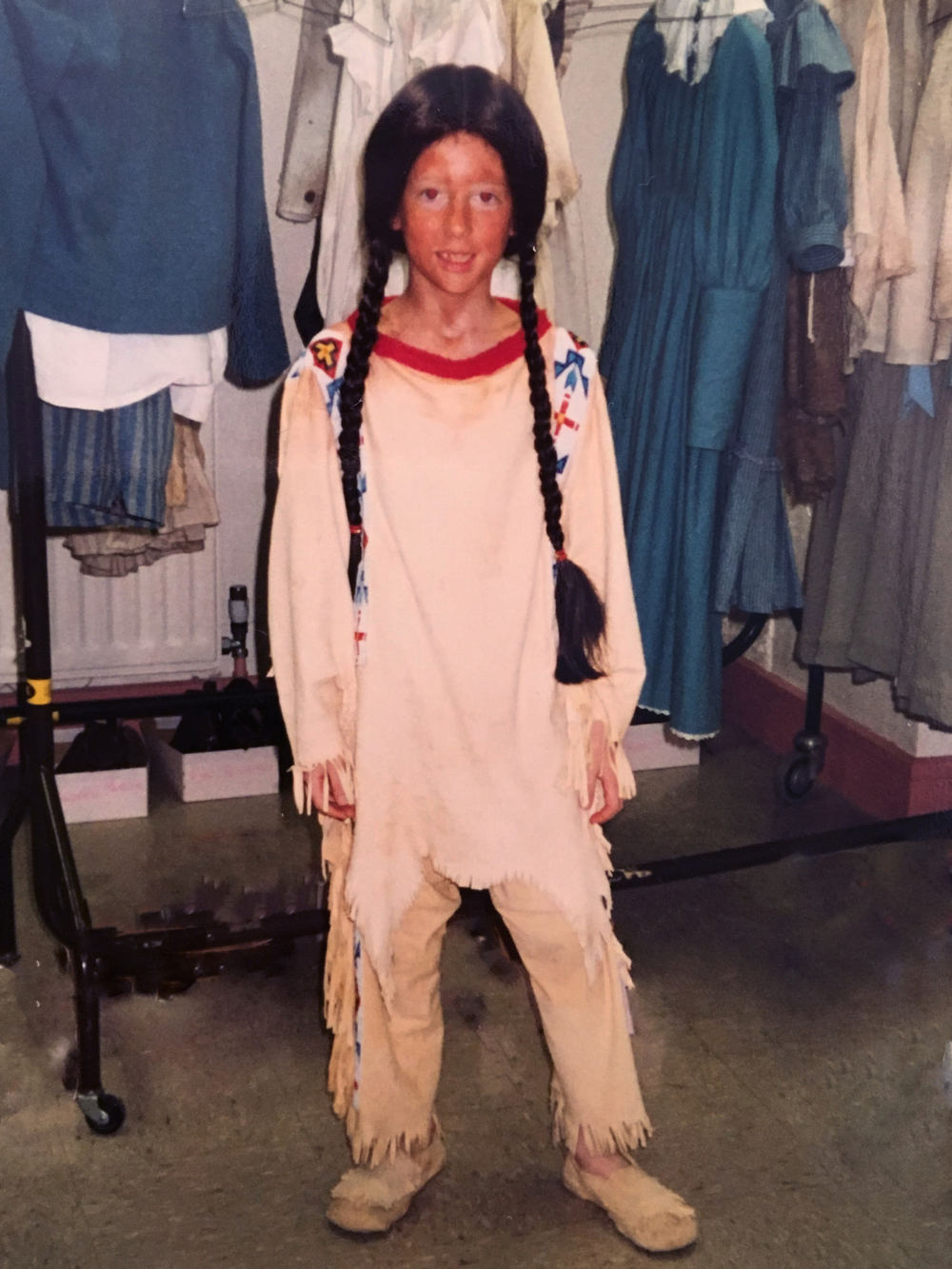 RDCE as a Red Indian in Annie Get Your Gun