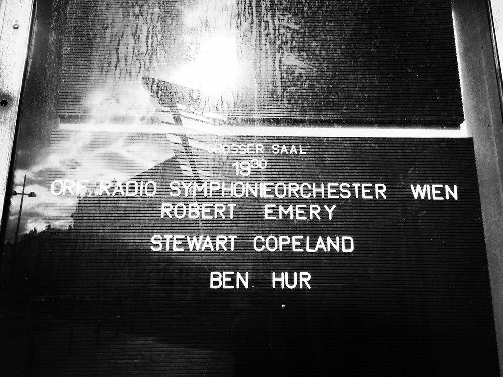 ORF Radio Symphonie Orchester Wien Robert Emery Stewart Copeland Ben Hur