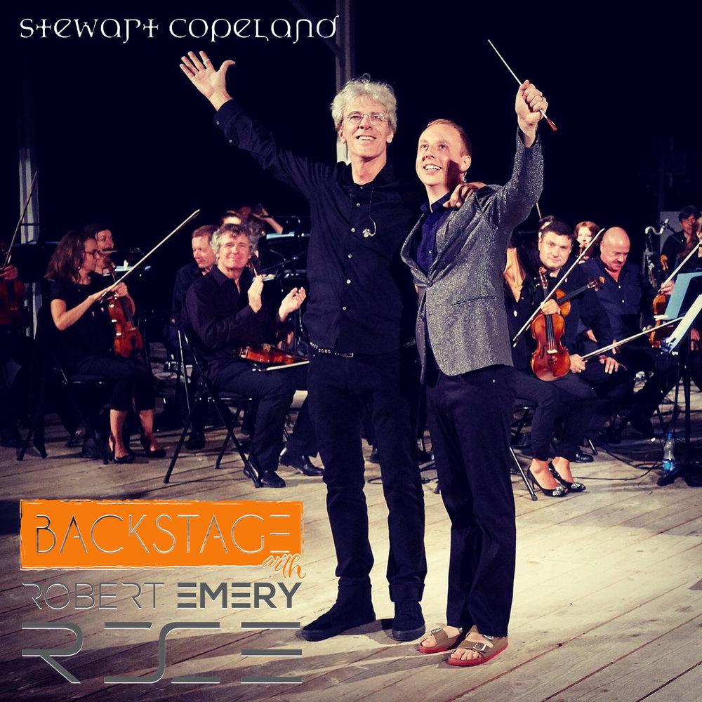 Stewart Copeland & Robert Emery (picture: Benno Hunziker)