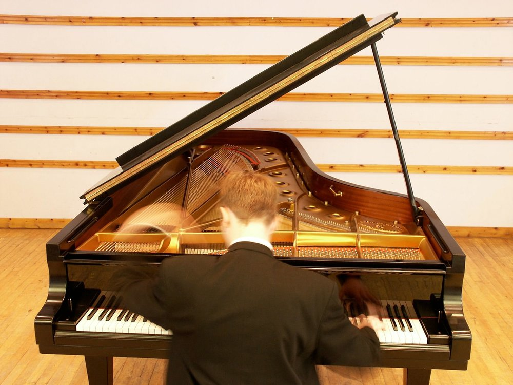 An Early Piano Shot - At the Royal College of Music