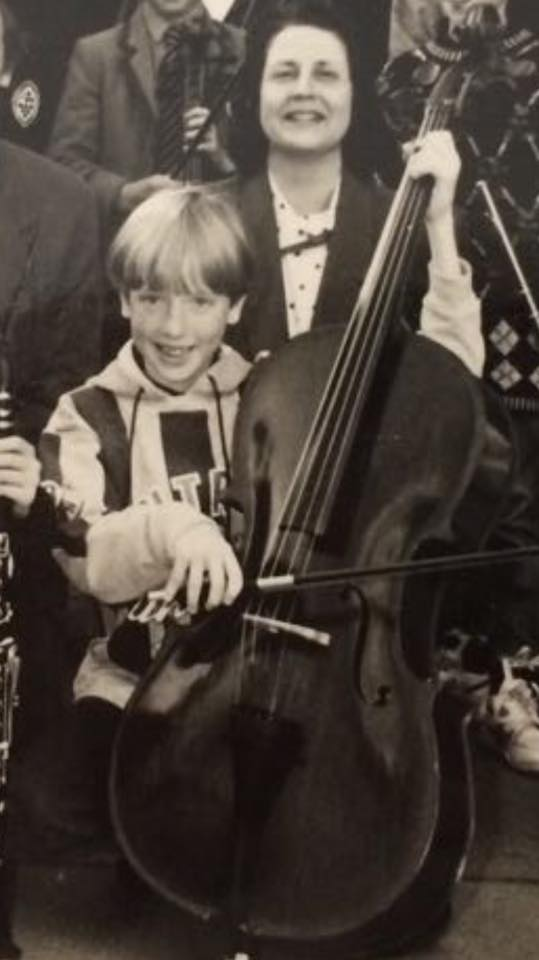 The Only Photo - Ever Took Of Me Playing A Cello -And For Good Reason!