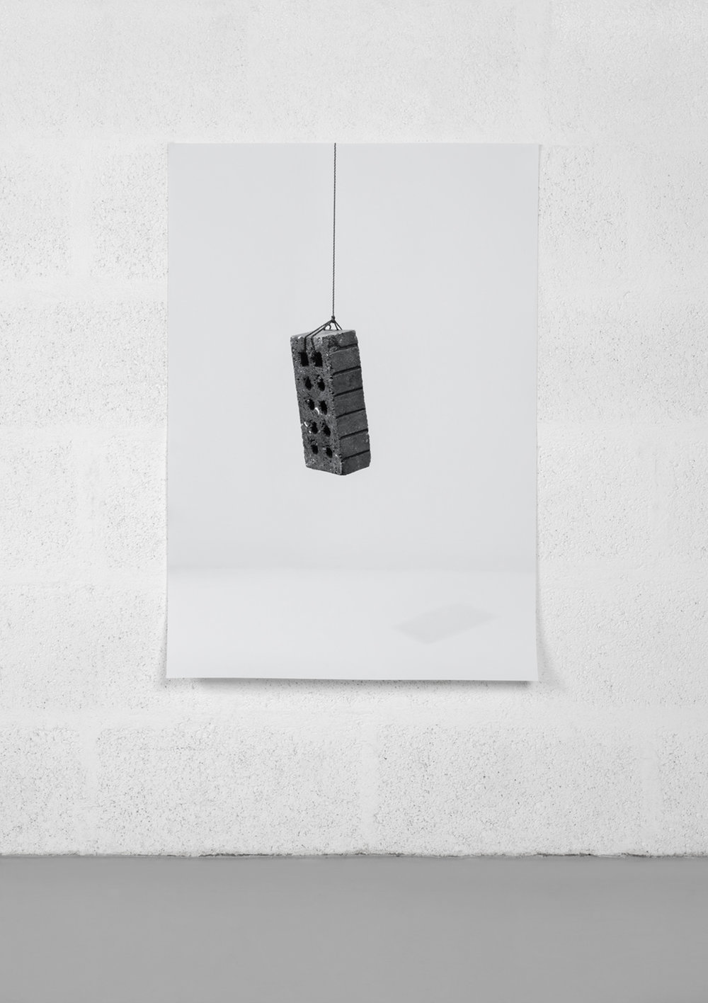 Untitled (Brick- Suspended)