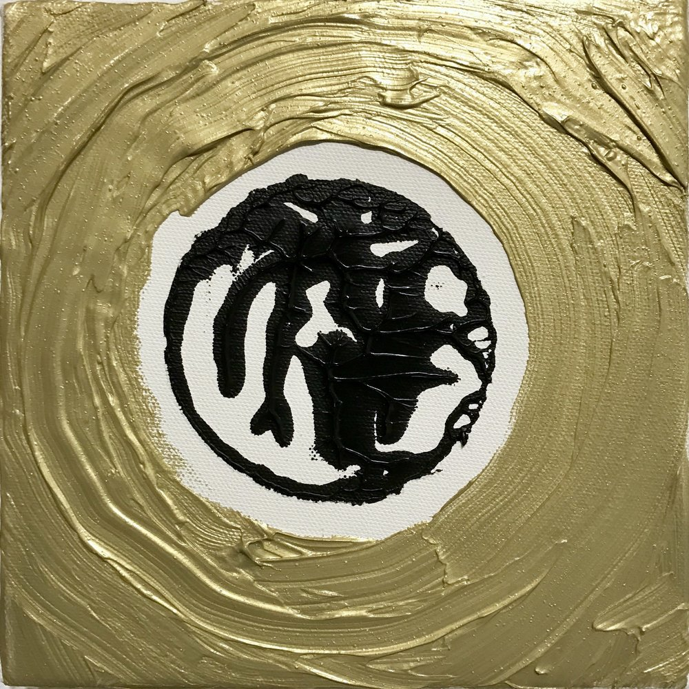 Phases of the Moon - Gold