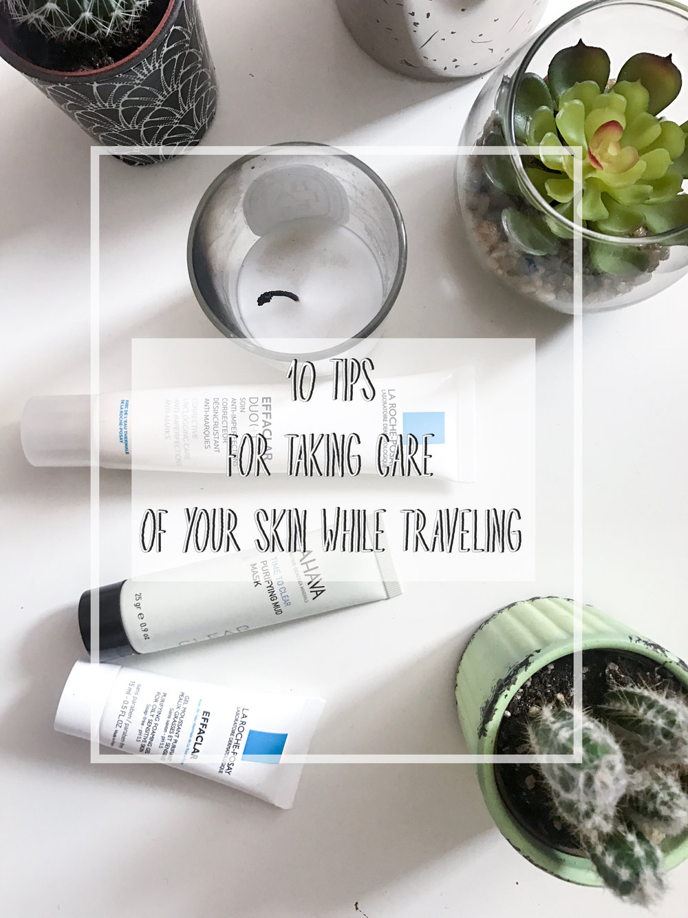 Skincare travel tips