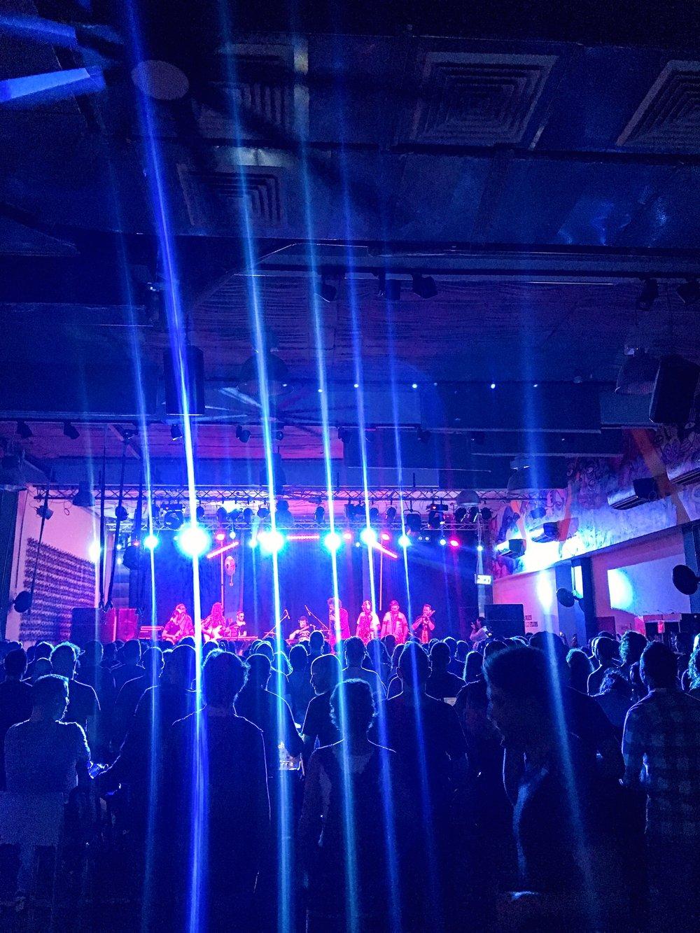 Funk concert - free for hostel guests Abraham Hostel - Tel Aviv