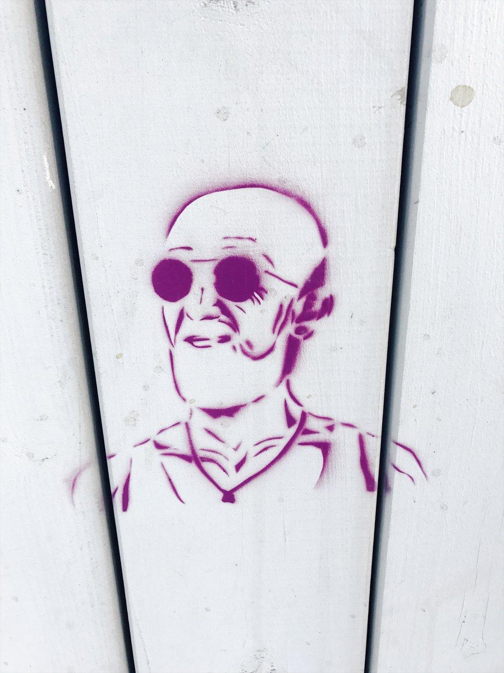 Hipster Abraham.