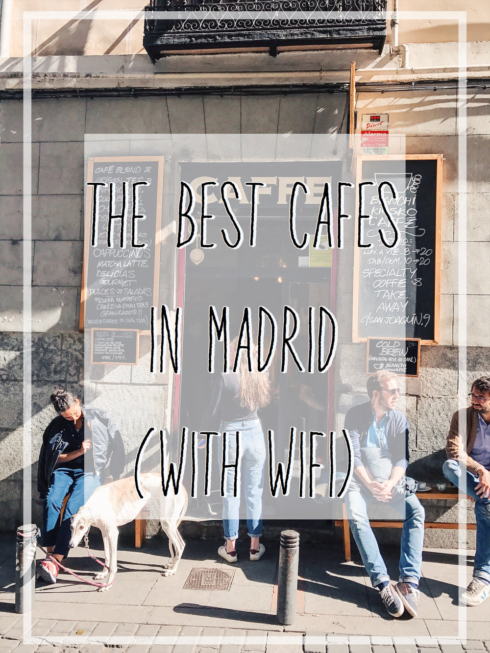 Work remotely from these cool spots in Madrid.