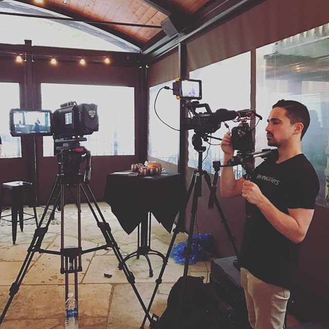 Shooting with the talented @benrifken of @reviewtrackers today.