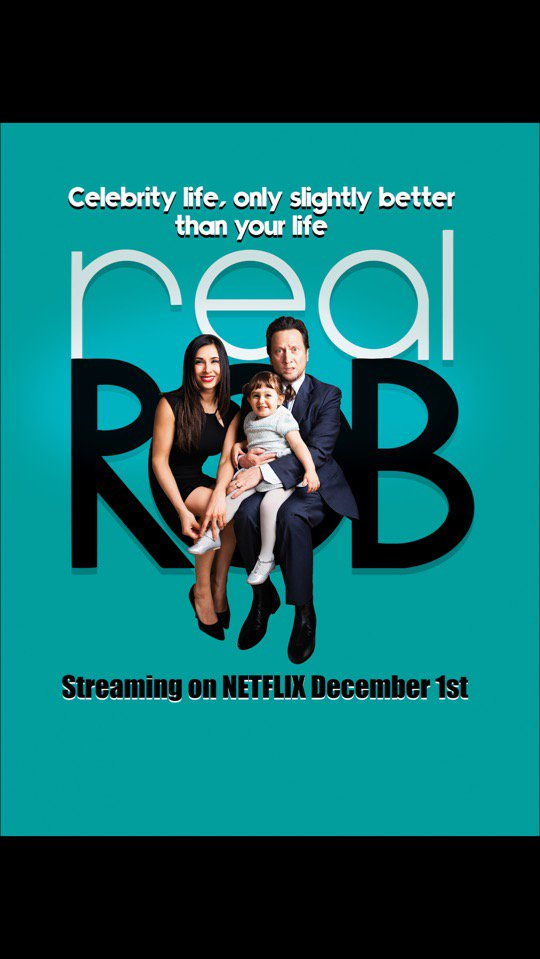 Author Kym Jackson plays Margaret in Real Rob!  Out now on Netflix! :)