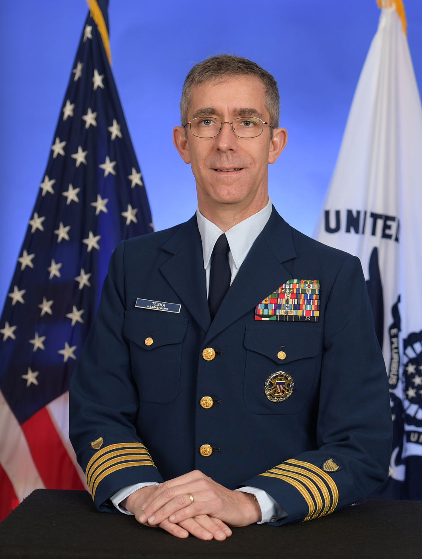 David L. Teska, captain, U.S. Coast Guard Reserve