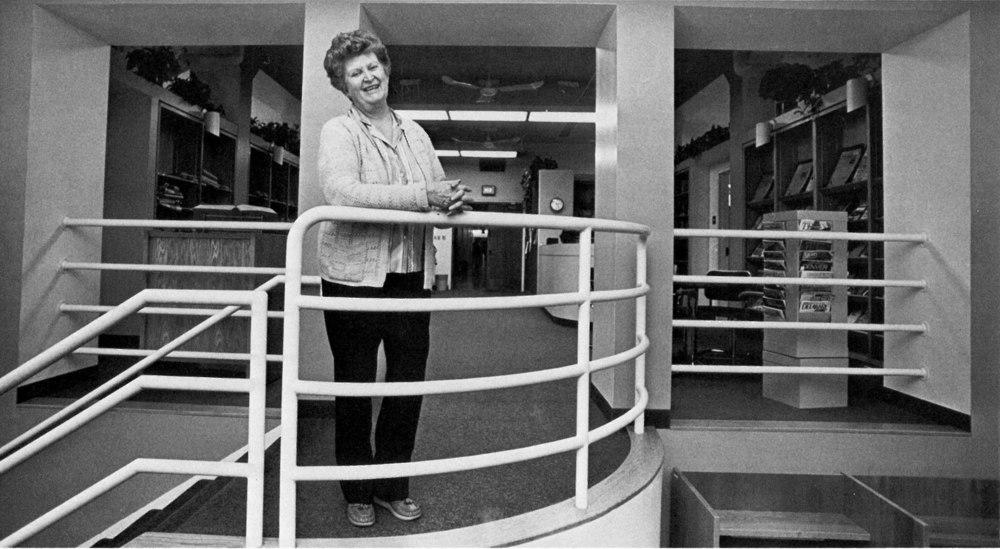 Ethel Stewart was featured in the Fall 1980  Jayhawk Journalist .