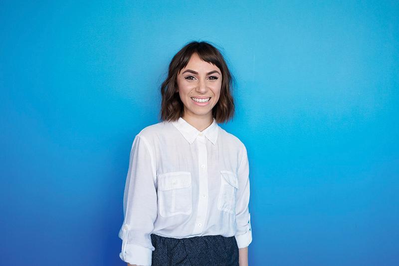 Vicky Diaz–Camacho, NPR intern