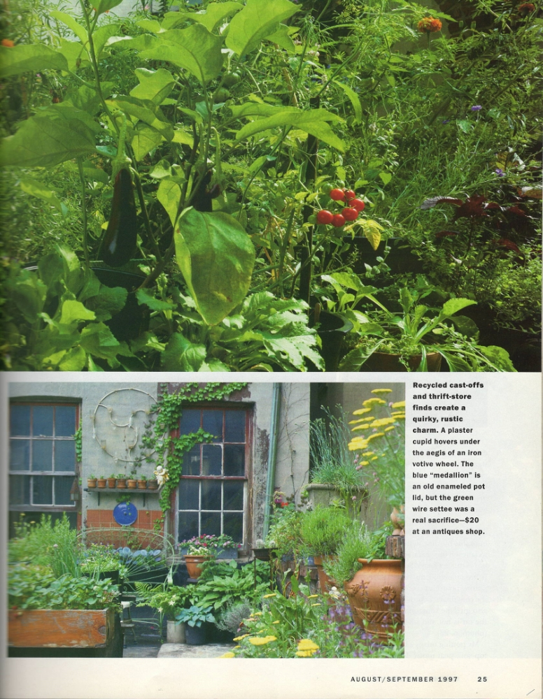 Kitchen Garden, 1997