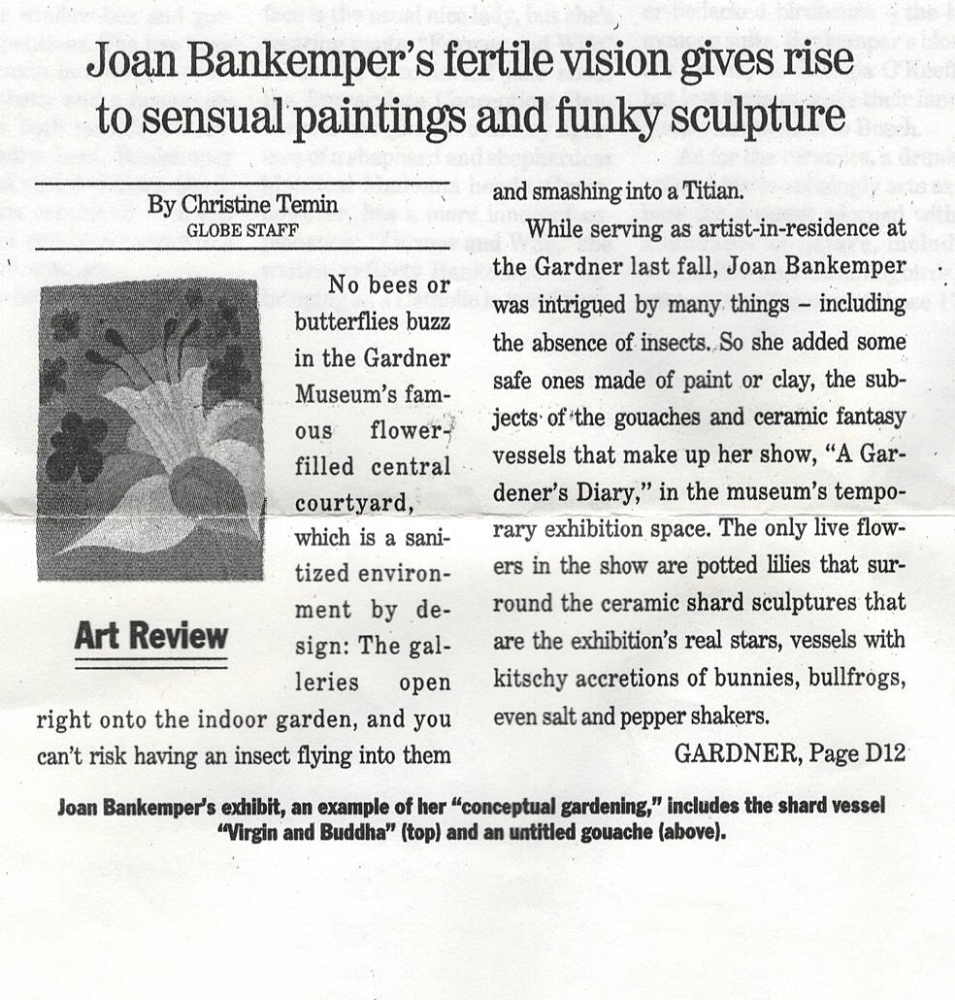 Boston Globe, 2000