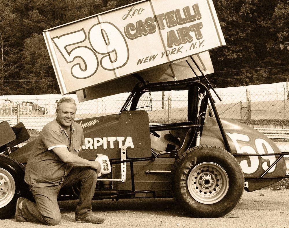 Sal Scarpitta, Lincoln Speedway, Abbottstown, PA, 1988