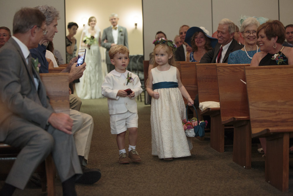 flower girl & ring bearer