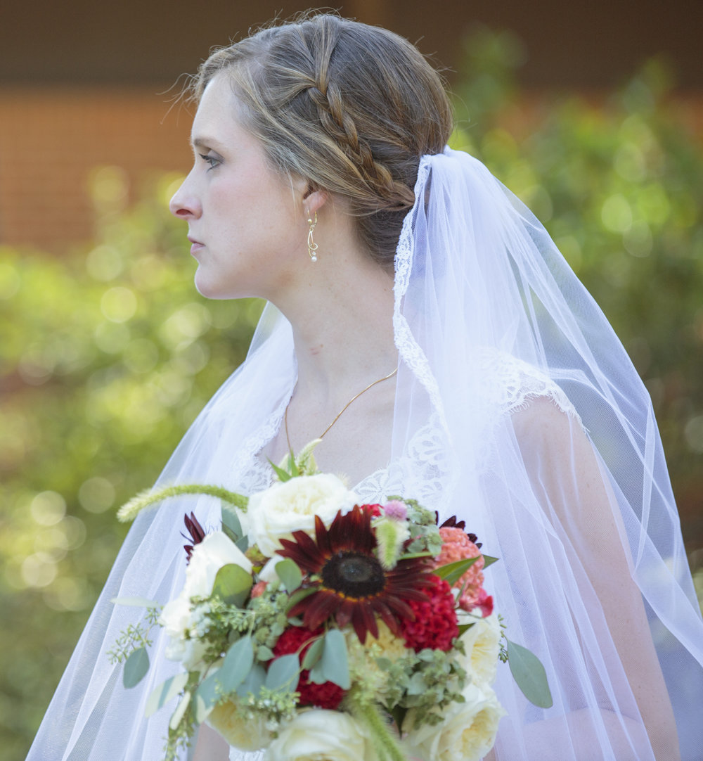 bridal portrait Chapel Hill