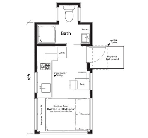 Design yours truform tiny nbsp example floorplan 16 malvernweather Images
