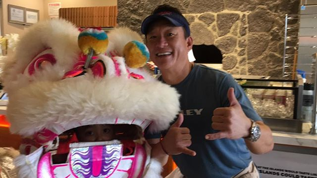 Celebrating Chinese New Year at Sophie's Gourmet Hawaiian Pizzeria at Koko Marina Shopping Center!