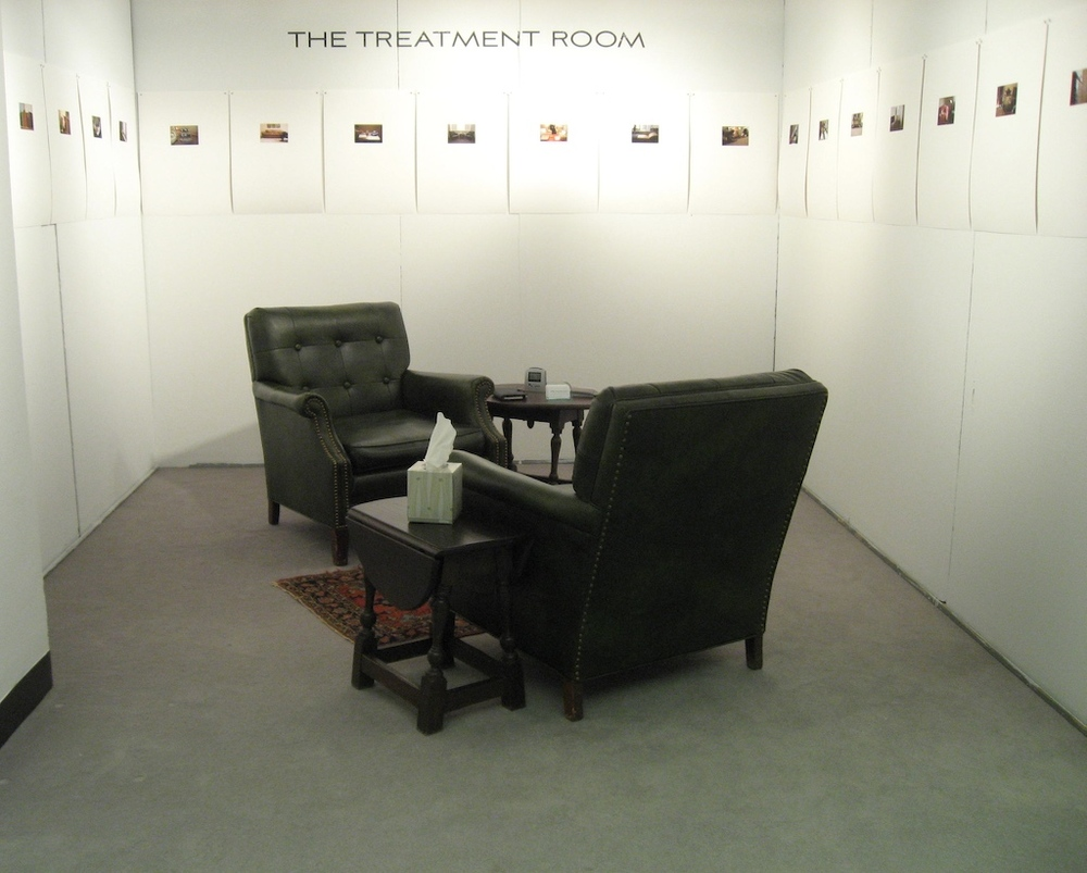 Installation of  The Treatment Room,  The Artist Project, Art Chicago 2008