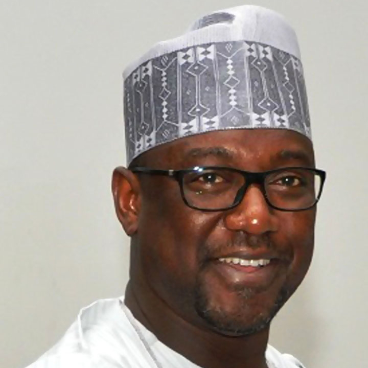 H.E. Alhaji Abubakar Sani Bello   Governor of Niger State, Nigeria