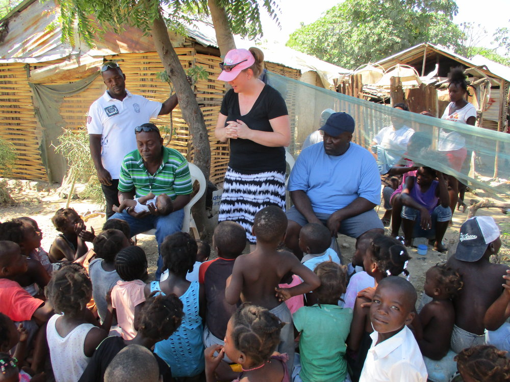 VBS in the village of Na Byen in Port-de-Paix.