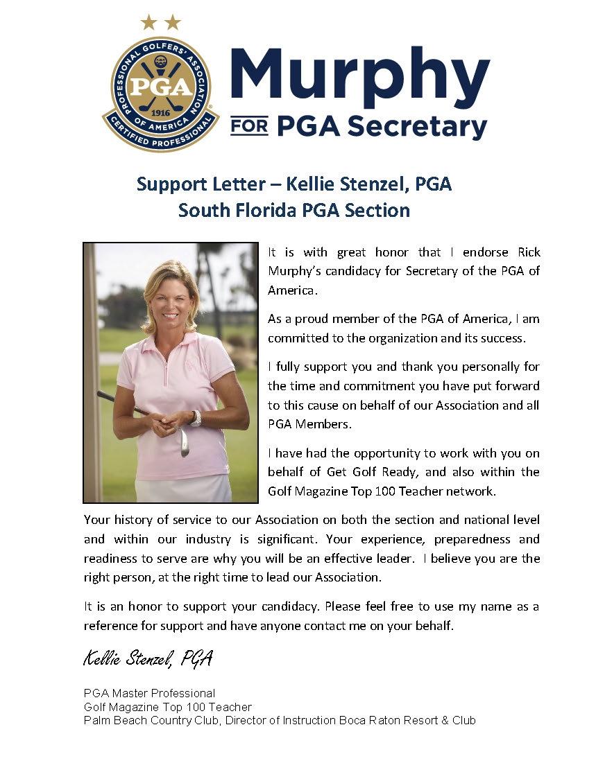 kellie stenzel pga master professional south florida pga section