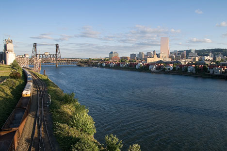Portland, Oregon is Considered to be a Very Green City