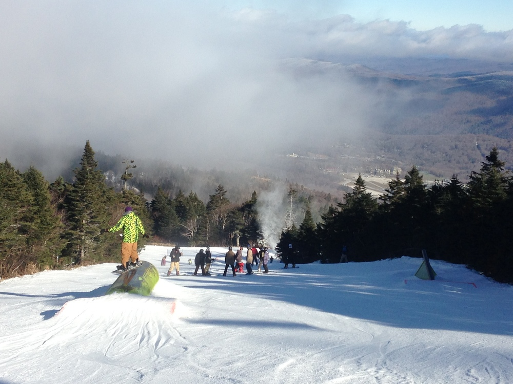 The early season park on Reason. #KillingtonParks.