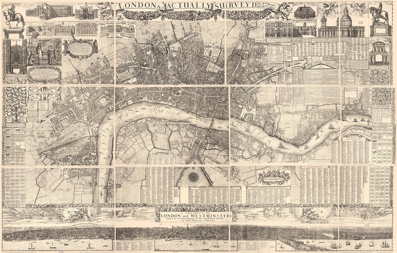 William Morgan's 1682 Map of London