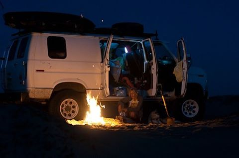 TBT to a time when genuine happiness was living in a van down by the river, the ocean and over the mtn. Thank you to all the amazing connections made along the way. #4x4van #sportsmobilerecoveryvehicle #4x4e350 #monstertrucklife #vanlife #quadravan #offroadtrip #roadtrip #visionquest #americandream #expeditionvehicle #overland #inavandownbytheriver #homeiswhereyouparkit #kiteboard #snowboard #backcountry #productionlife #lifestyle #productionvehicle #nikon #nikkor