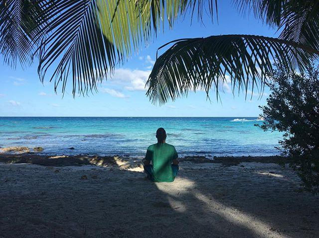Inspiration.  #goodmorning #meditation #onlocation #paradise #productionlife #thegoodlife