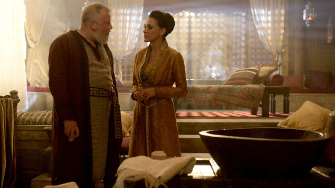 ABC's Of Kings and Prophets photo of King Saul (Ray Winstone)