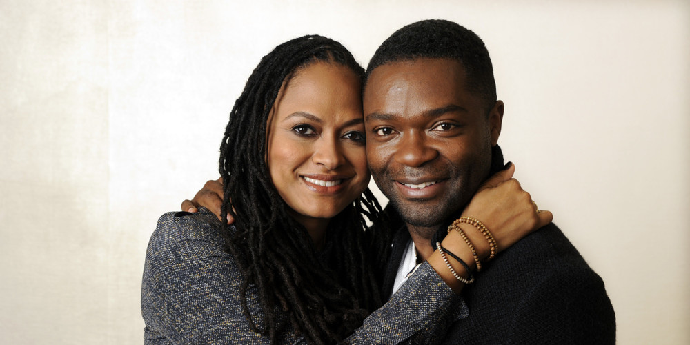 Duvernay alongside actor and longtime friend David Oyelowo.