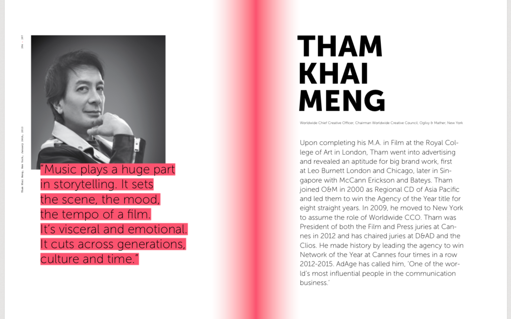Tham Khai Meng, CCO, Ogilvy & Mather, on Sound branding, advertising in music, audio branding, sound identity