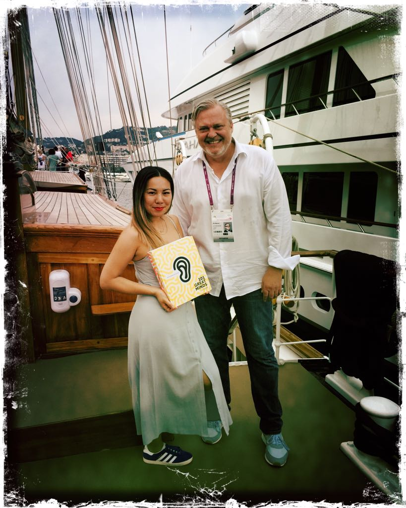 Jenny & Uli at Cannes Lions Festival of Creativity 2017.