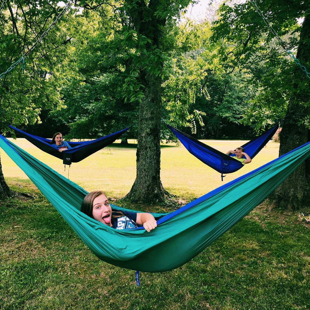 We love our hammocks