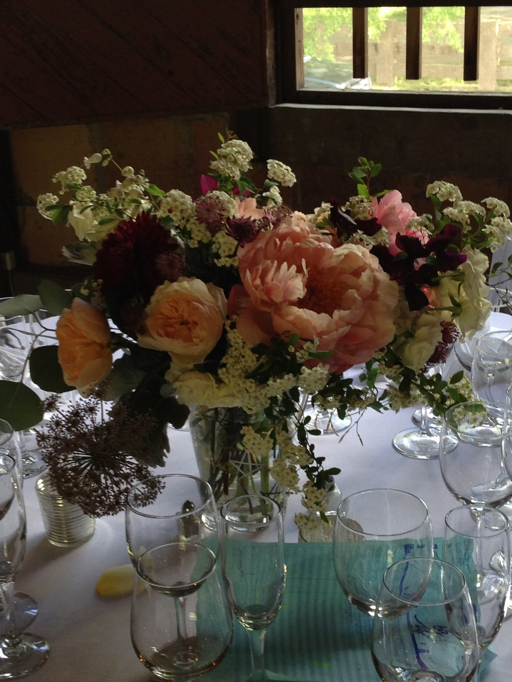 wedding party centerpiece