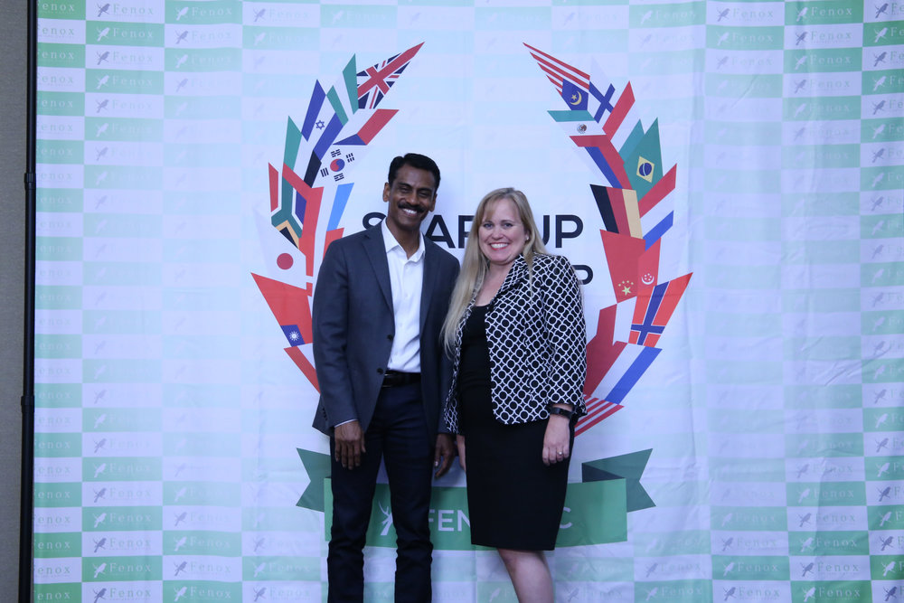 Charlotte Danielsson at a Meet & Greet with Jay Vijayan, former CIO of Tesla
