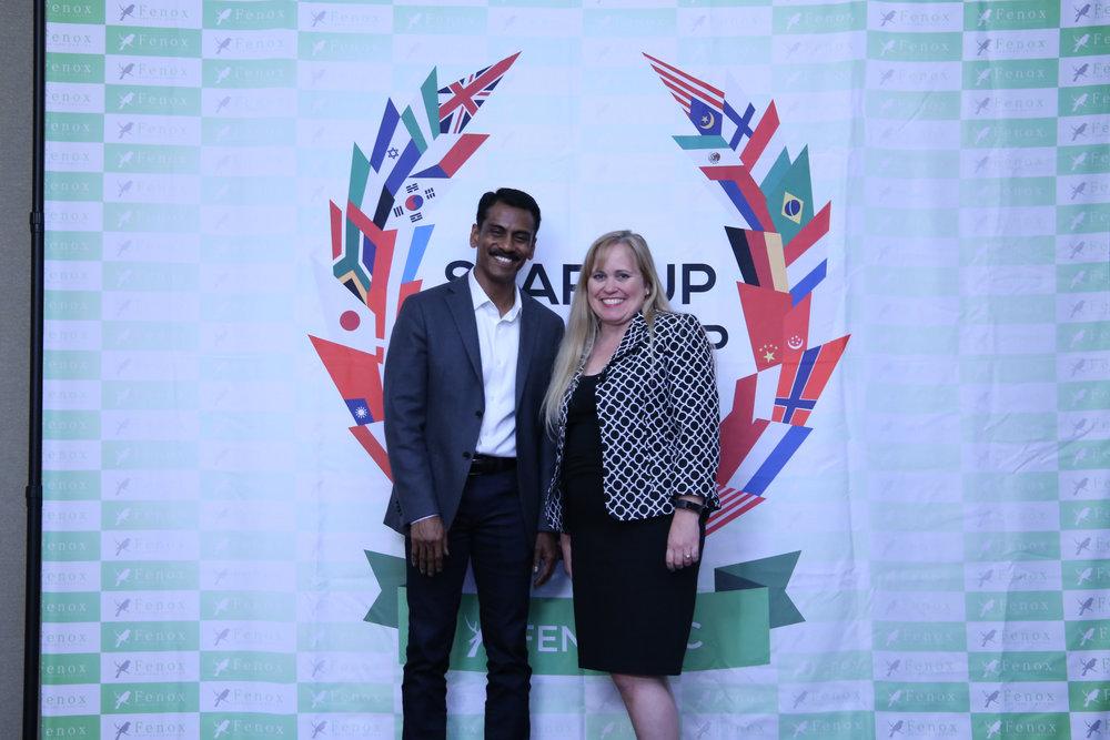 Charlotte Danielsson at a Meet & Greet with Jay Vijayan, former CIO of Tesla