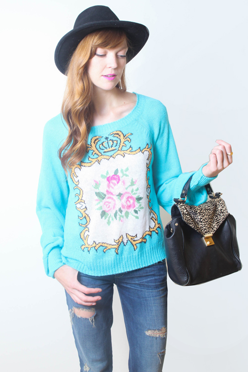 WILDFOX Teacup Pfeiffer Sweater