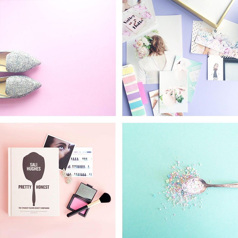 Blog and social media photo backdrops you can find and create yourself