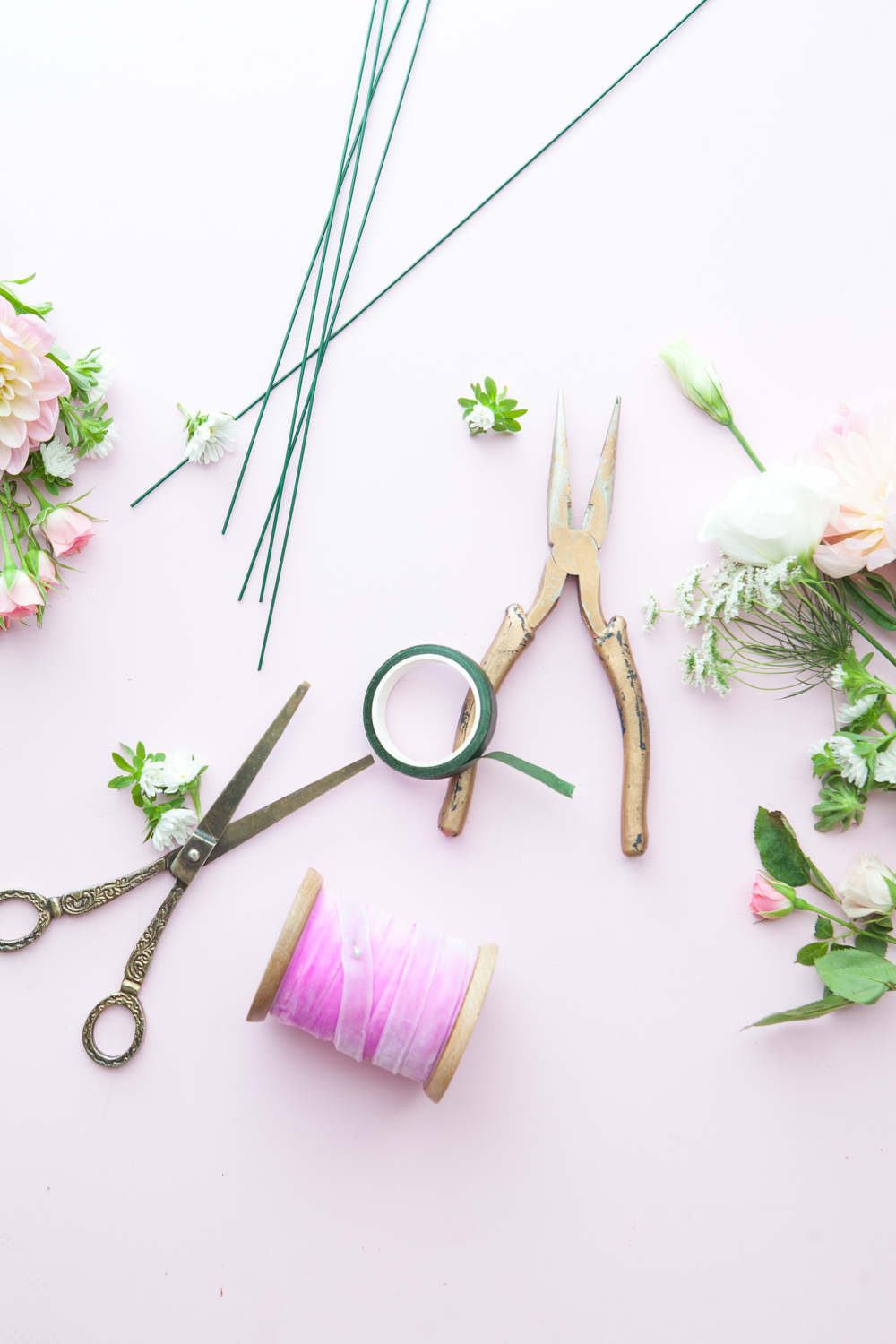 Pastelcraftclub A Flower Crown Diy With Lady Hayes Studio
