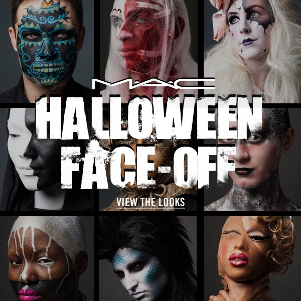 The Halloween Face-Off Contest by Mac.