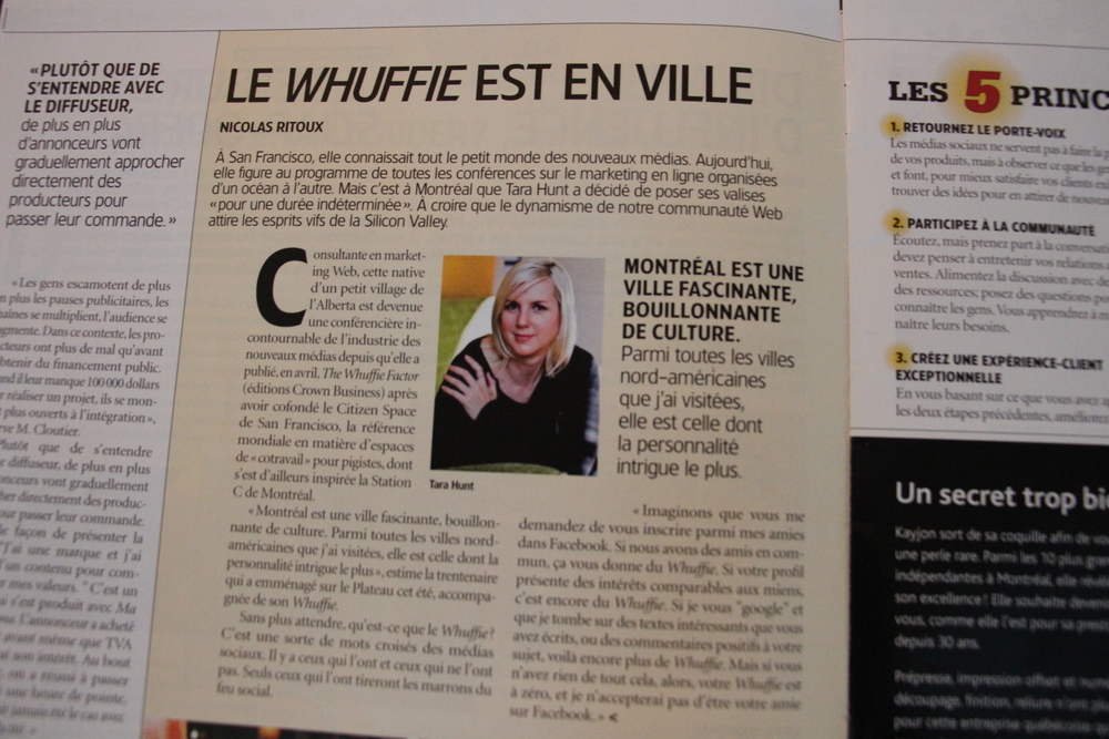 From Quebec Strategy Magazine.