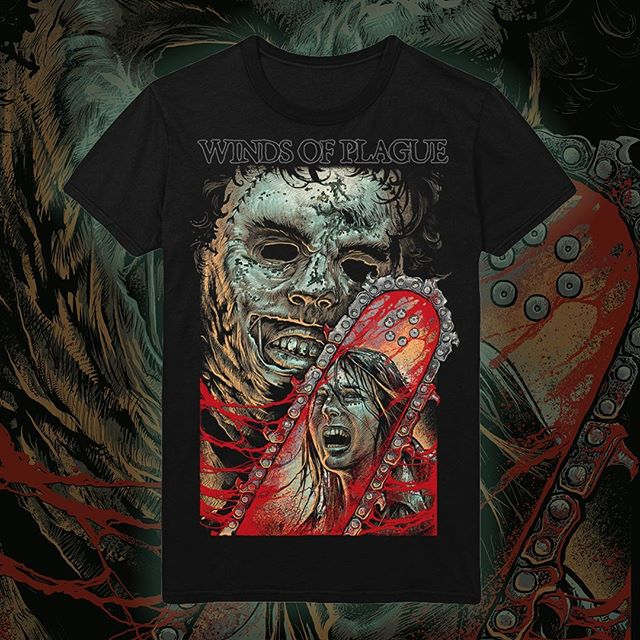 Our texan tee is in stock! Pick one up now from windsofplaguemerch.com