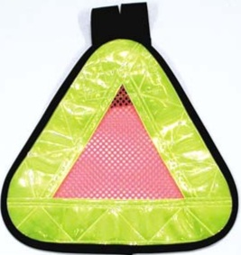 CLICK to PURCHASE   High Visibility Triangle Day or Night