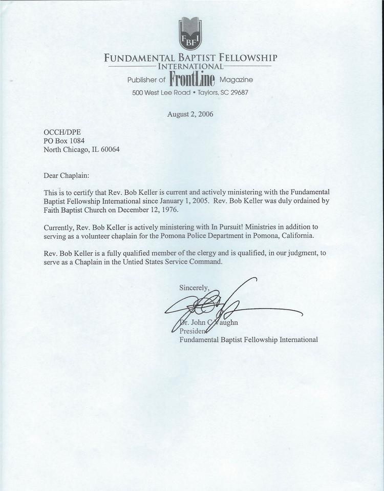 Fundamental Baptist Fellowship