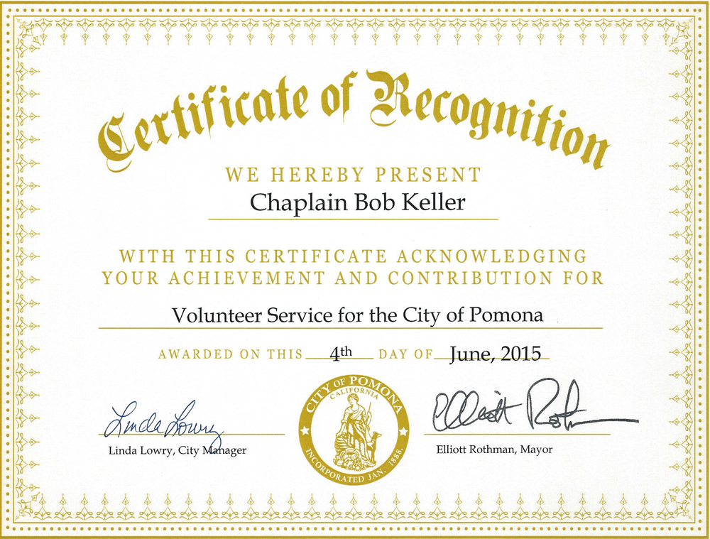 volunteer of the year certificate template - blog in pursuit ministries of ca