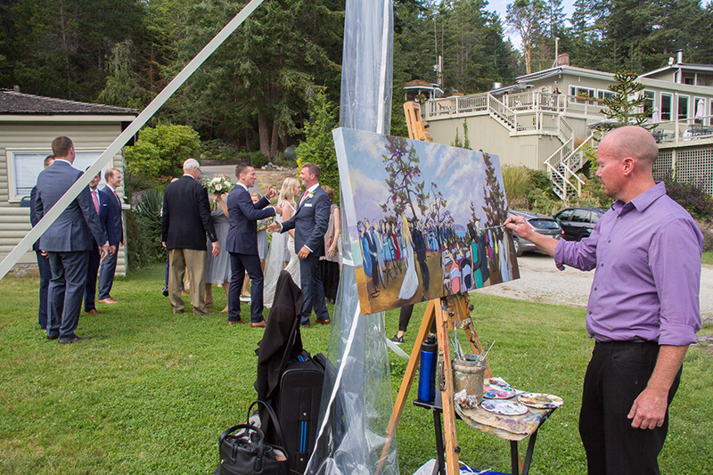 Impressions+Live+Art,+Wedding+Painting+on+the+Sunshine+Coast